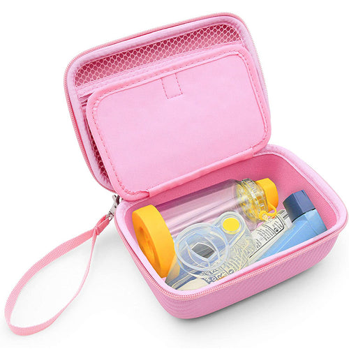 Travel Asthma Inhaler EVA Carrying Case