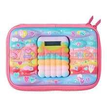 Load image into Gallery viewer, Personalized Colorful Calculator Blend Hard Pencil Case