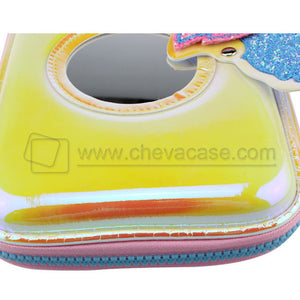 Custom Fashion Discoloration PU Pencil Case