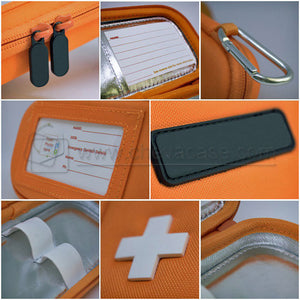 Custom Hard Case Insulated Medication Bag