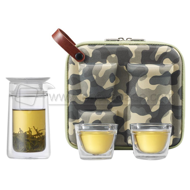 Custom Hard EVA Storage Tea Set Travel Bag