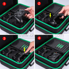 Load image into Gallery viewer, Custom Hard Carrying Case for Xbox One X Console Accessories