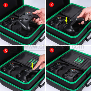 Custom Hard Carrying Case for Xbox One X Console Accessories
