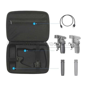 Custom Hard EVA Carrying Case for DJI OM 4, OSMO Mobile 3 and Accessories