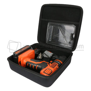 Custom Hard EVA Tool Carrying Case for Cordless Drill/Driver