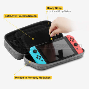 Custom Travel Carrying Case for Nintendo Switch