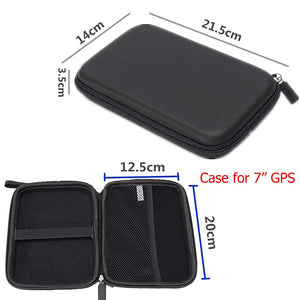 Custom Compact Travel Hard EVA GPS Carry Case