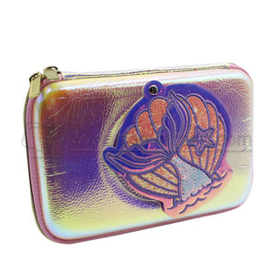 Custom Hard Carrying Holographic Pencil Case
