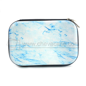 Custom Hard Marble Printing EVA Pencil Case