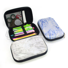 Load image into Gallery viewer, Custom Hard Marble Printing EVA Pencil Case