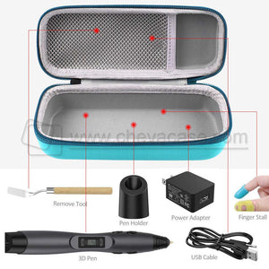 Custom EVA Case for 3D Doodler Printing Pen