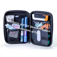 Load image into Gallery viewer, Custom Insulin Hard EVA Case Diabetic Organizer