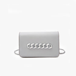 Chained Crossbody Clutch