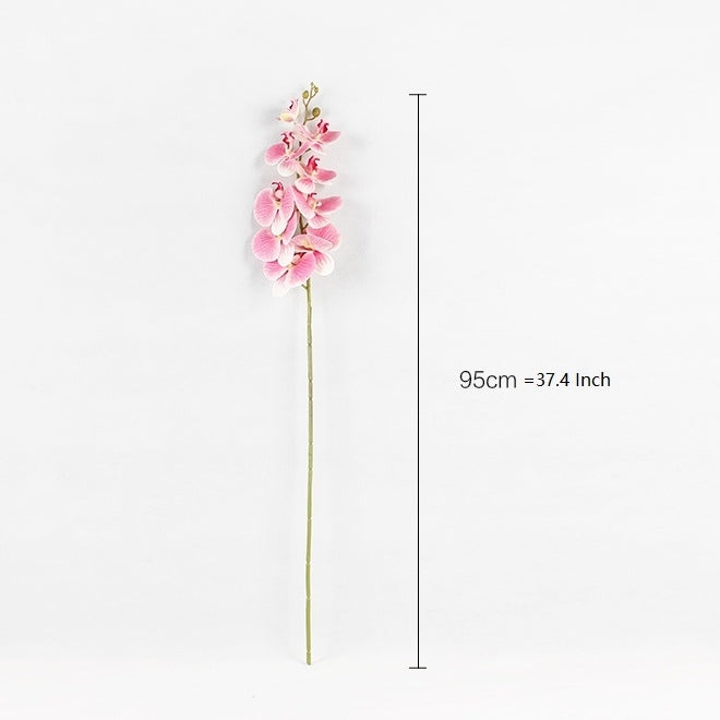 "Real Touch Butterfly Orchid Stem in Pink 37"" Tall"