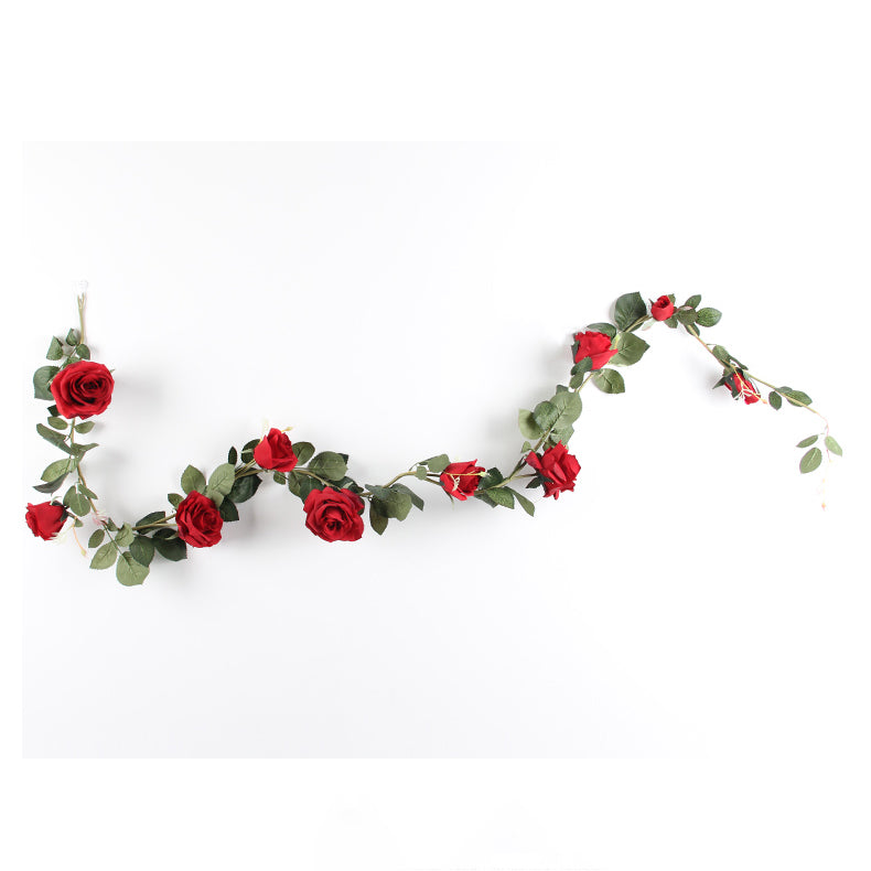 "Artificial Australian Rose Vine 71"" Long"
