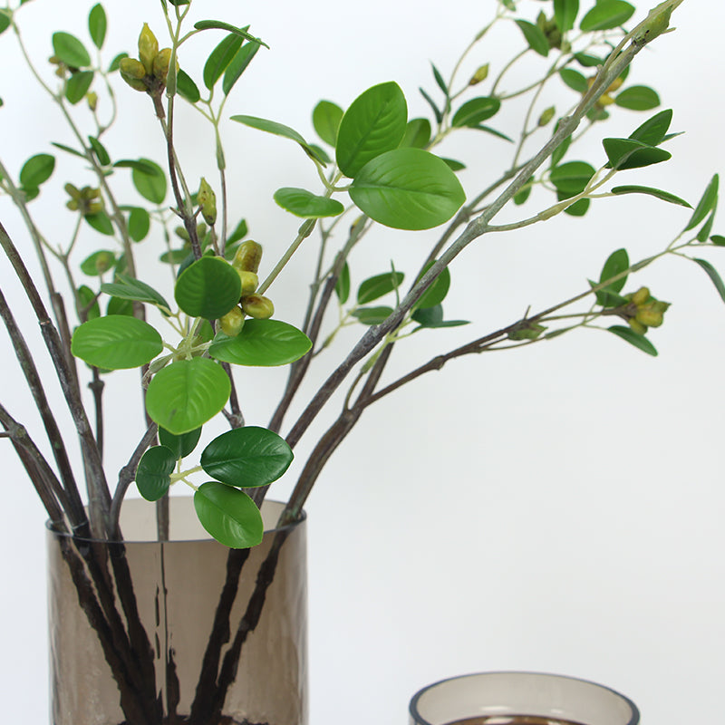 "Artificial Banyan Leaf Stem 28"" Tall"