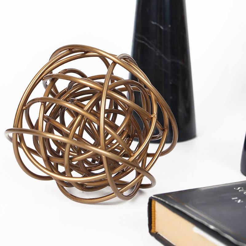 Gold Metal Decorative Ball