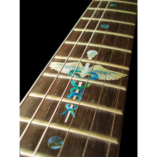 Caduceus(Snakes on a sword) for Fretboard