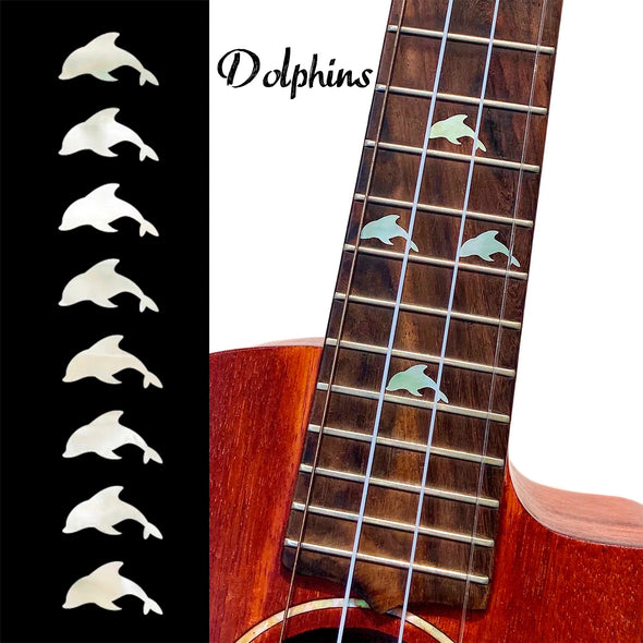 Dolphin Fret Markers
