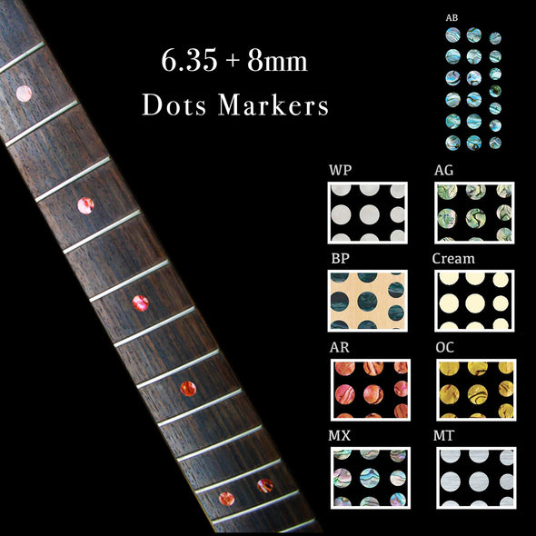 Dots Stickers 6.35+8mm