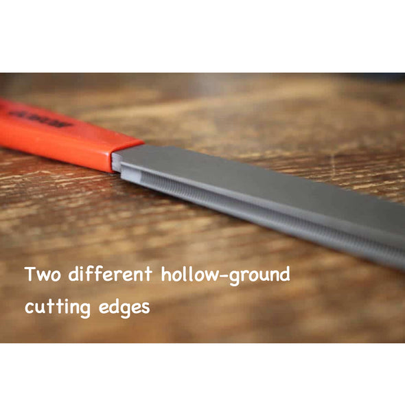 Hosco Double-edge Fret Crowning File