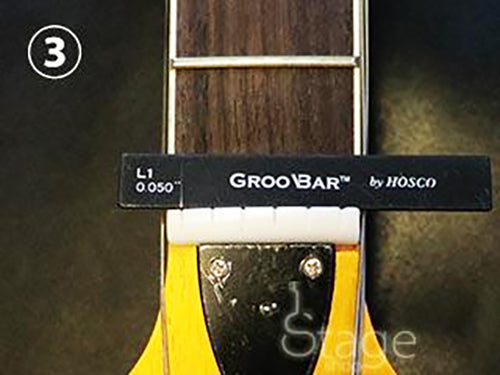GrooBars - Nut Slot Assist Tools