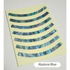 Rosette Strip (Abalone Blue)