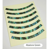 Rosette Strip (Abalone Green)
