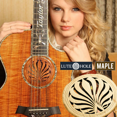 LuteHoles Soundhole Cover (Maple)