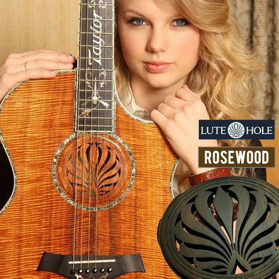 LuteHoles Soundhole Cover (Rosewood)