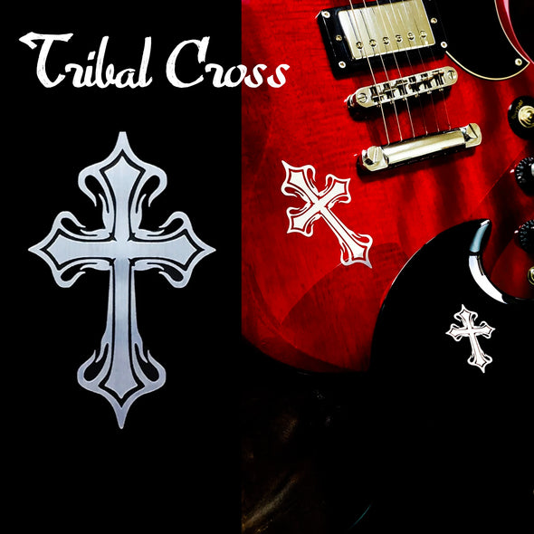 Metallic Tribal Cross (large)