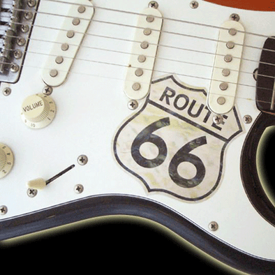 Pickguard Sticker for Stratocaster ROUTE66