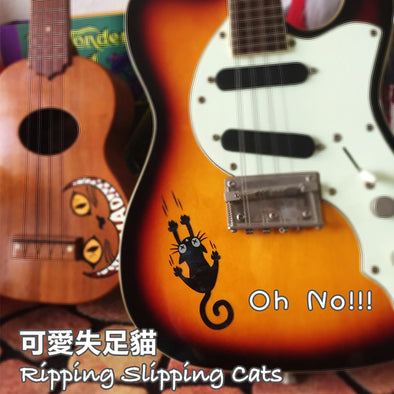 Ripping Slipping Cat