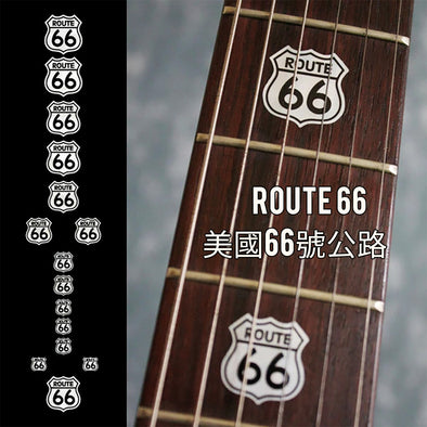 Route 66 as fret marker