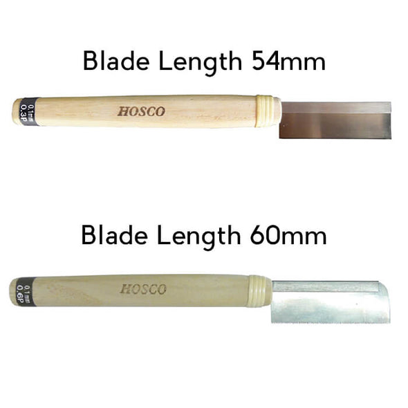 wood knife thinnest
