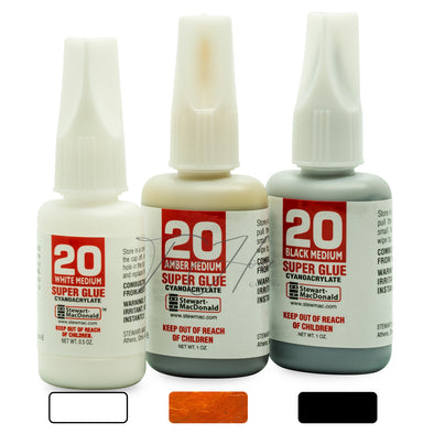 StewMac Tinted Super Glue