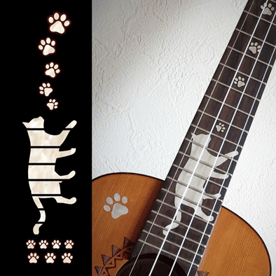 Cat and Cat Paw for Ukulele