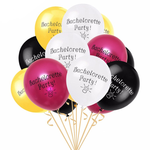 10 Pieces Bachelorette Balloons