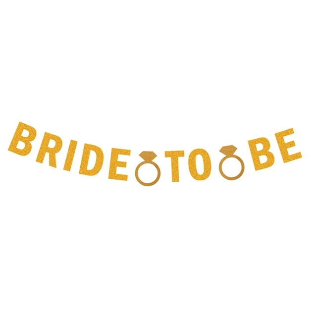 Bride to Be Diamond Rings Banner + More
