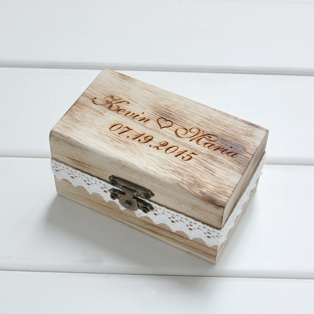 Personalized Rustic Gift Box