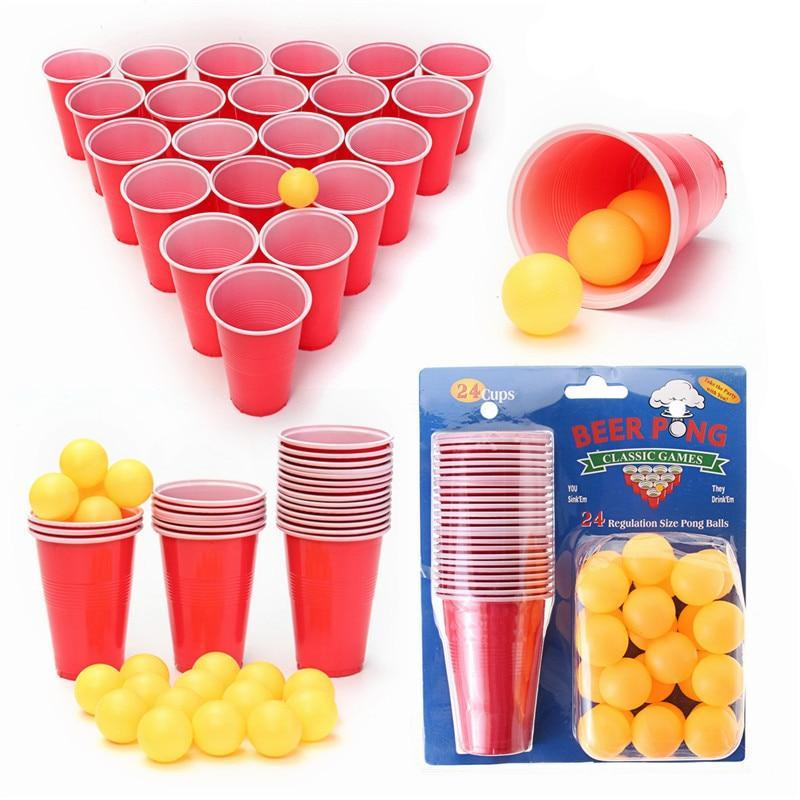 Beer Pong Kit - 48 Pieces