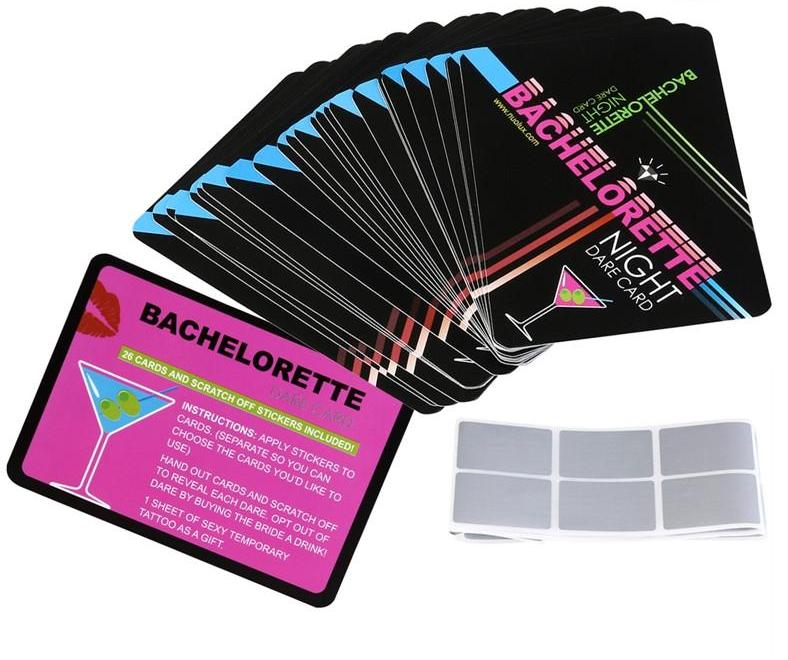 Scratch off Dare Cards + Tattoo Package