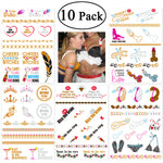 10 Pack Temporary Fake Willie Tattoos