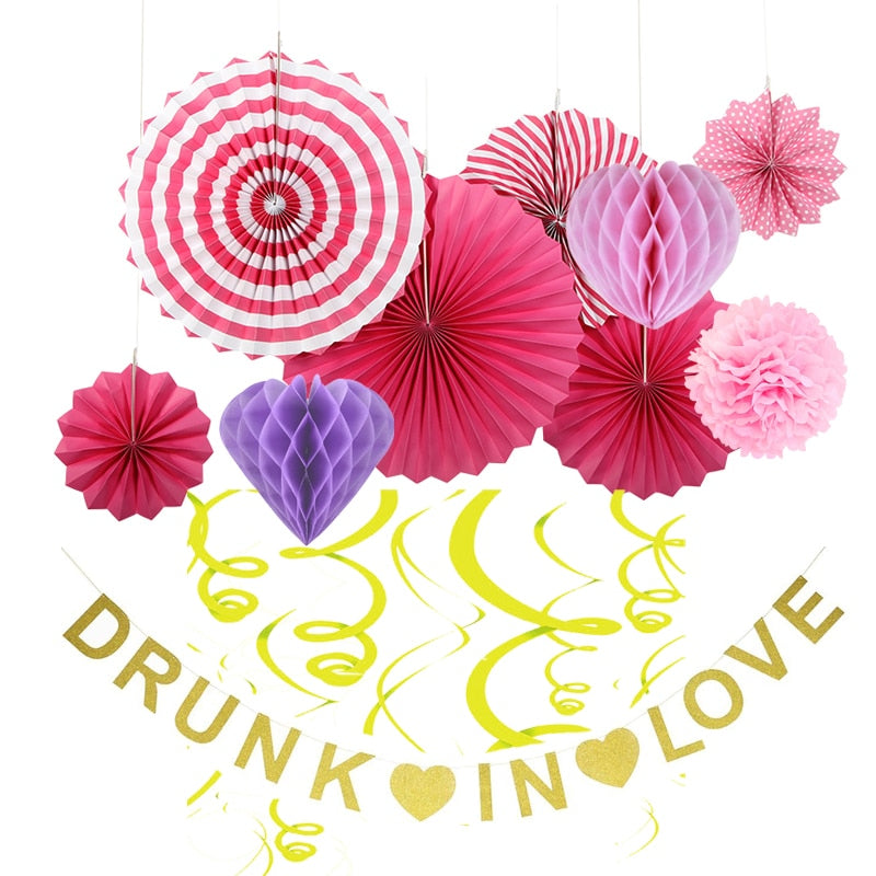 """Drunk in Love"" Party Decoration Theme - 11 Pieces"