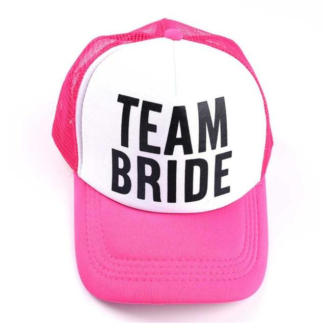 Team Bride Bachelorette Baseball Cap