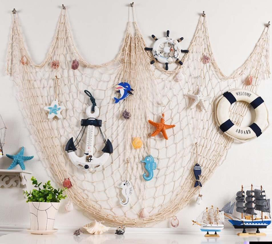 Ocean Fishing Decorative Nets