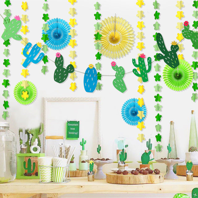 Cactus Garland Package