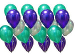 30 Pieces Mermaid Balloons 10-Inch