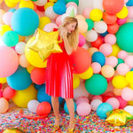 10 Pieces Multi Color 10-Inch Latex Balloons