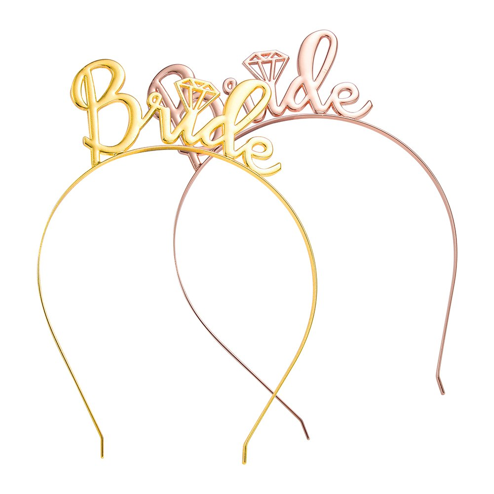 Rose & Yellow Gold Bride Tiara